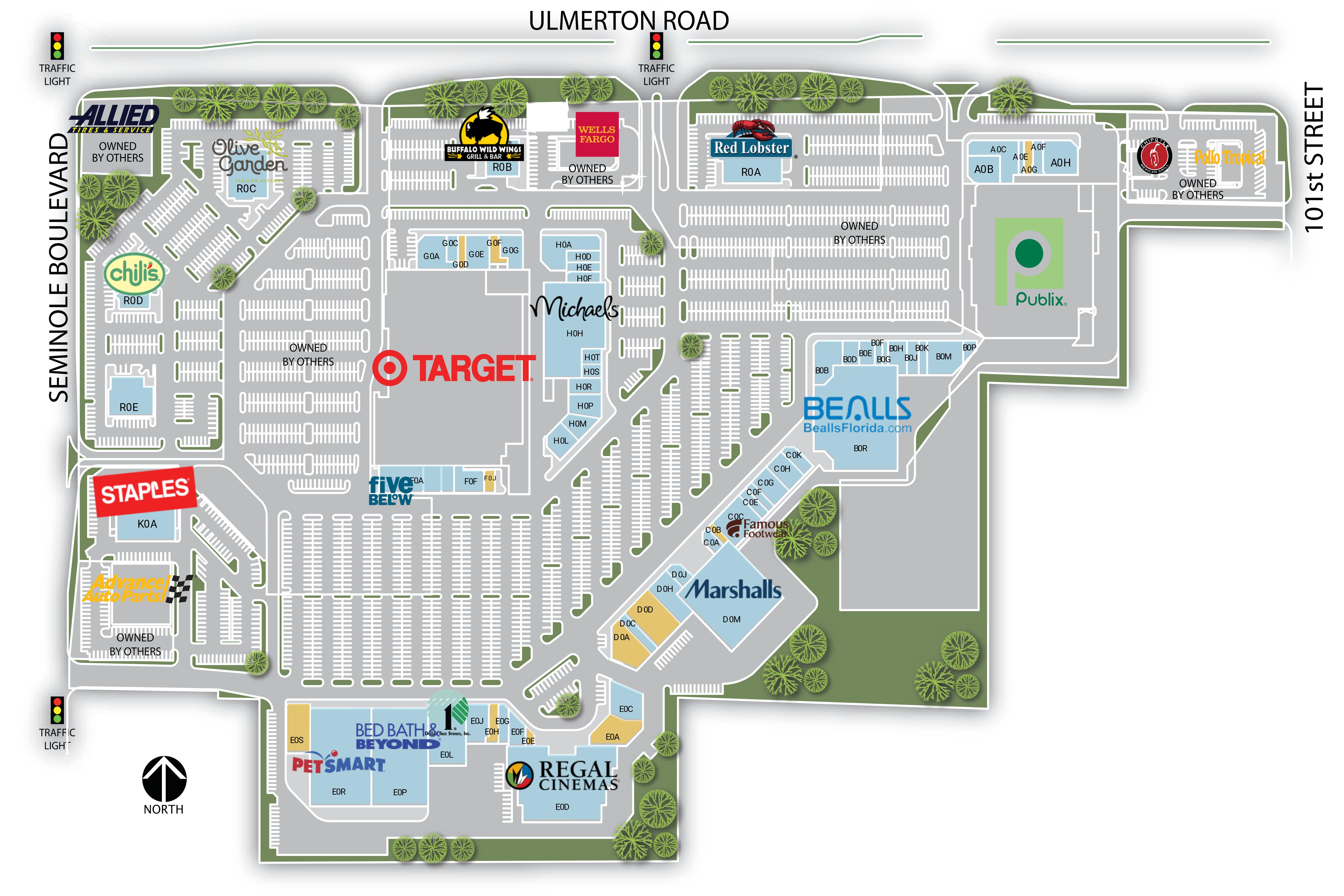Retail Space for Lease | Largo, FL - Largo Mall | Weingarten ...