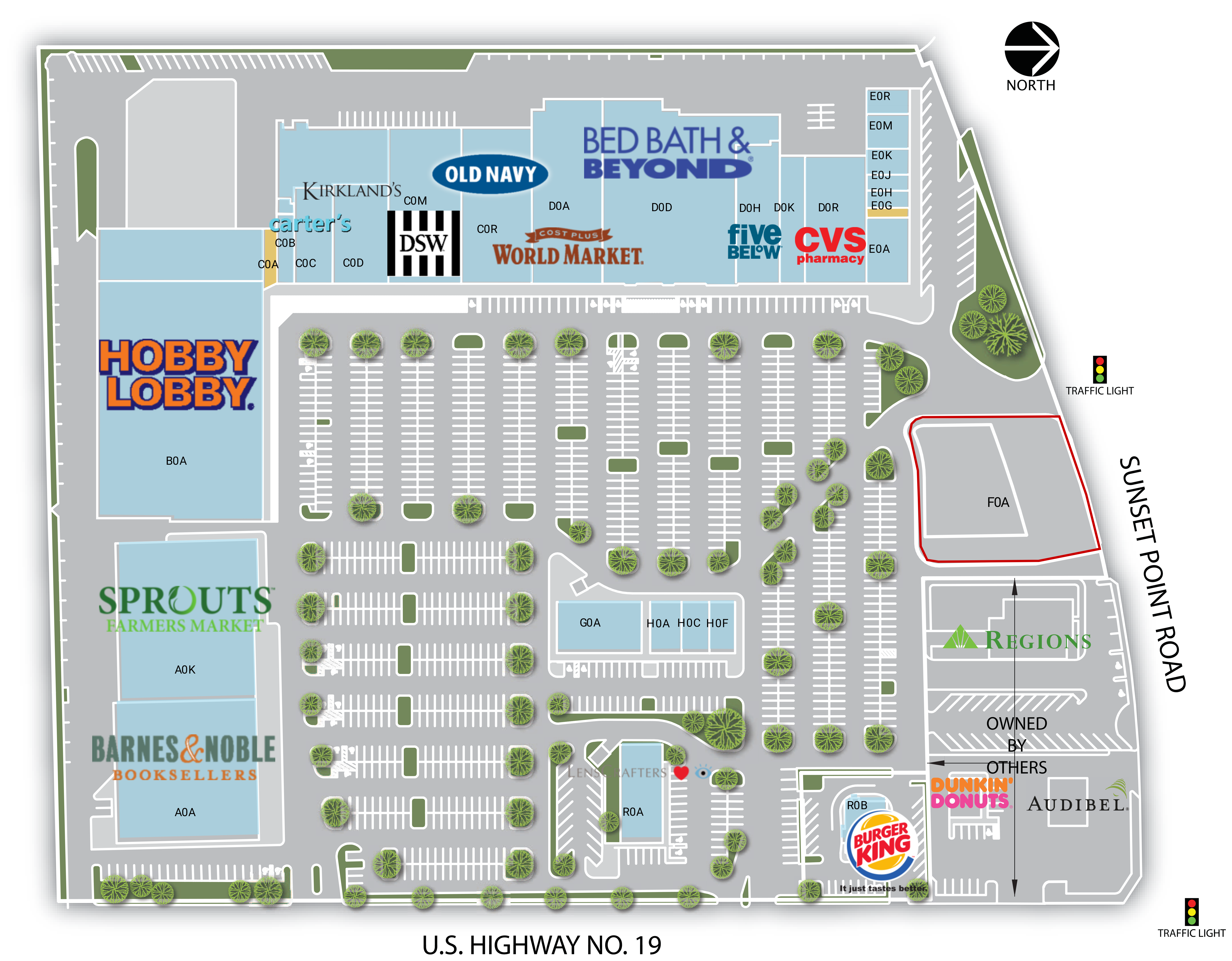 Retail Space for Lease | Clearwater, FL - Sunset Point 19 ...