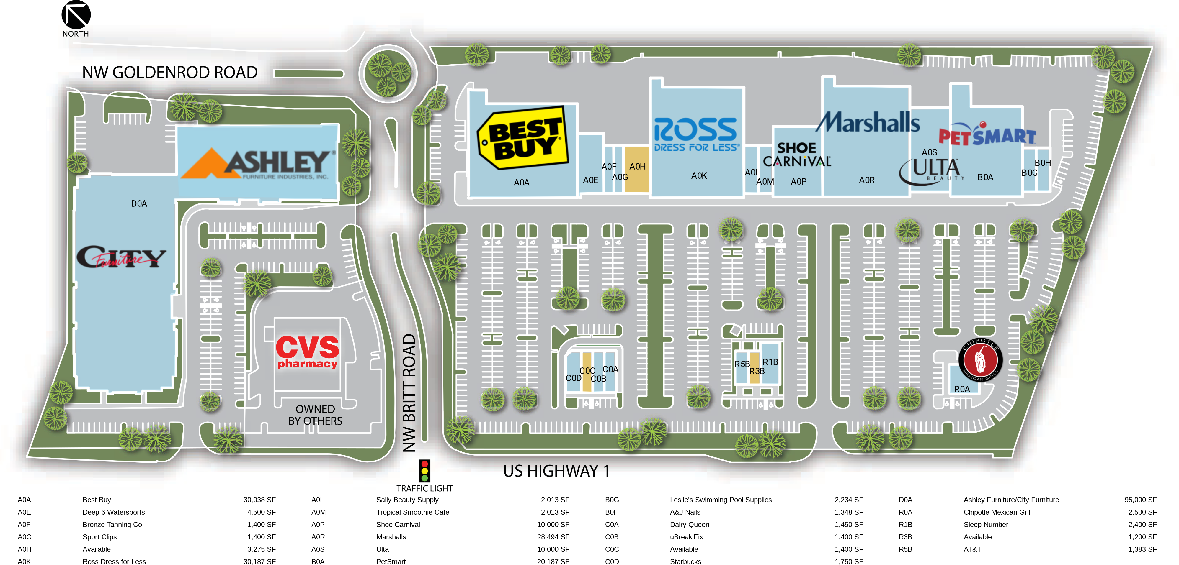 Retail Space For Lease Stuart Fl Pineapple Commons Weingarten