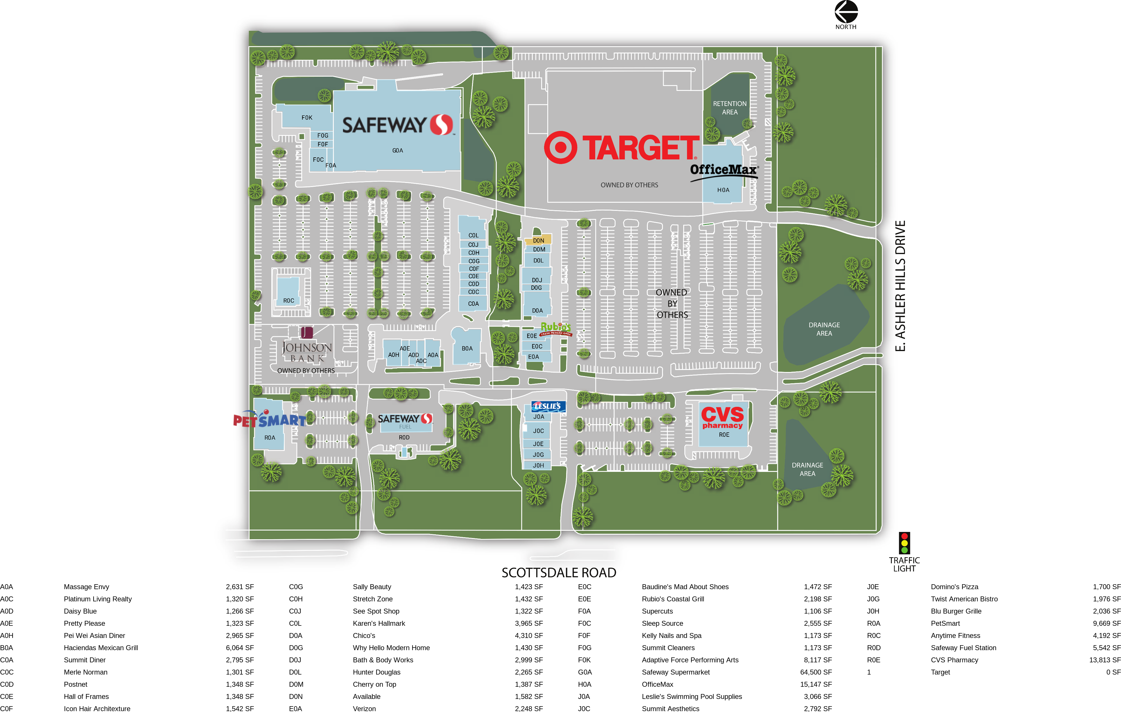 Retail Space for Lease   Scottsdale, AZ - The Summit at Scottsdale