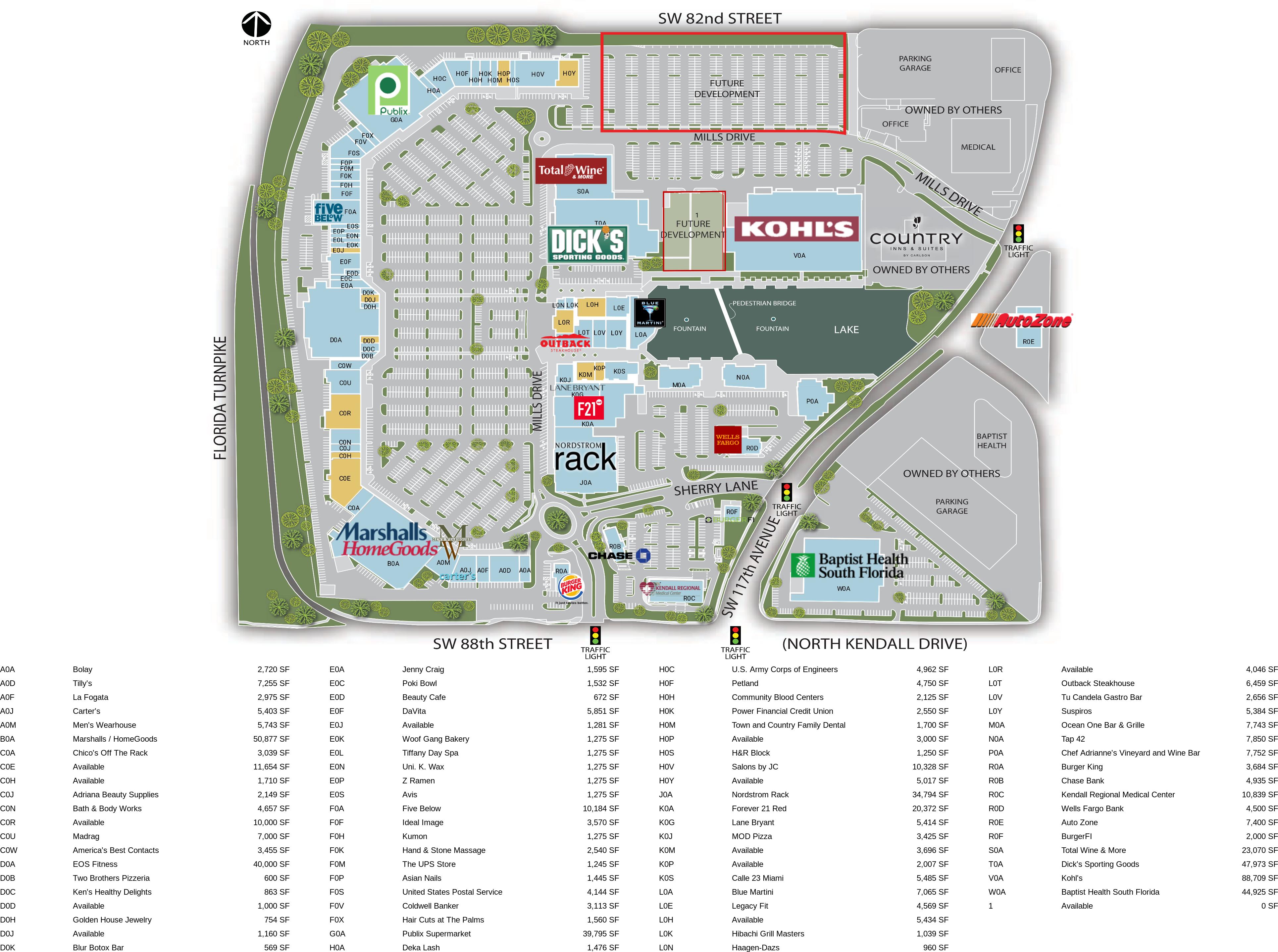 Popular 299 List Aventura Mall Map