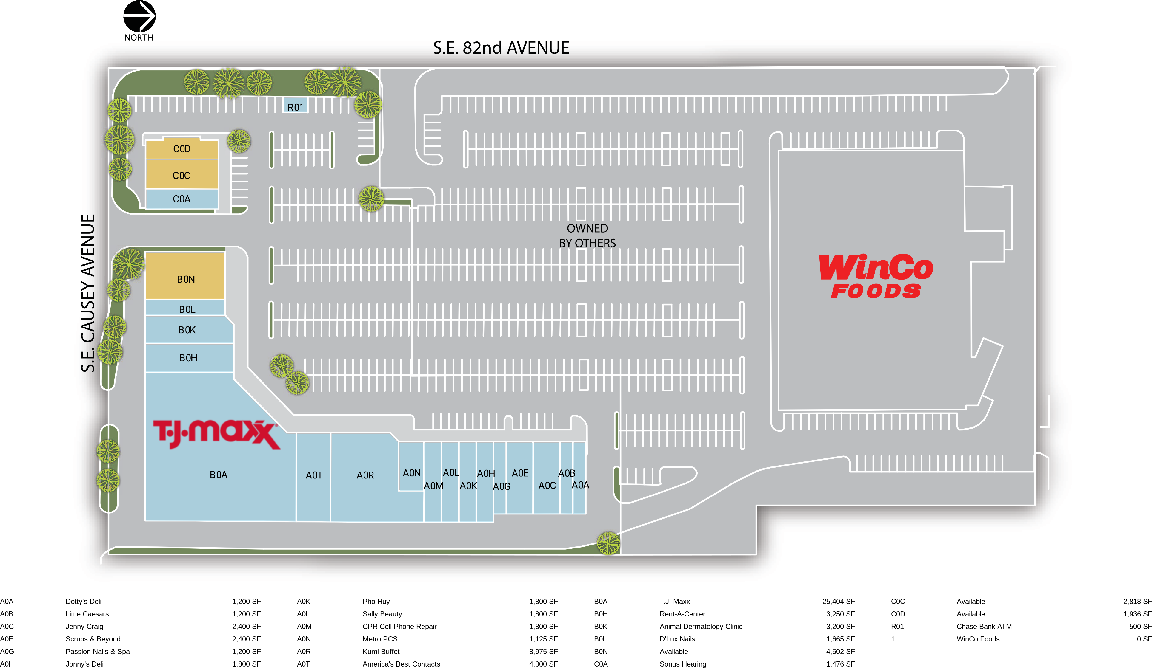 Retail Space for Lease | Happy Valley, OR - Clackamas Square ... on