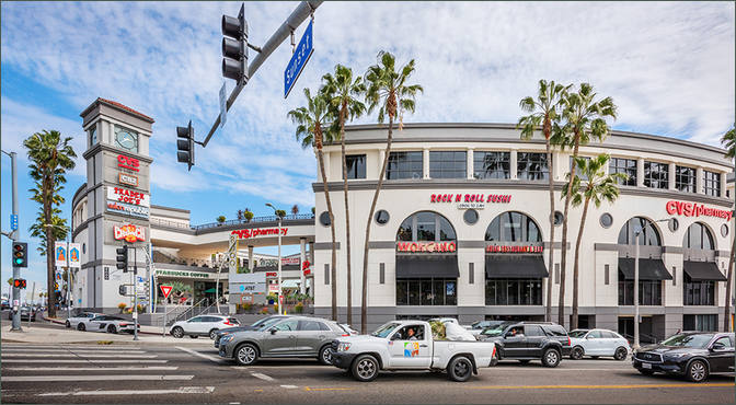 Retail Space For Lease Los Angeles Ca 8000 Sunset Strip